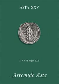 Copertina di: Asta XXV - 2, 3, 4 e 5 luglio 2009