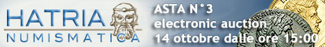 Banner Hatria Numismatica Asta elettronica 3