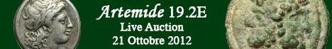 Banner Artemide Aste - Asta  19.2E