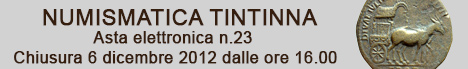 Banner Tintinna - Asta Elettronica 23