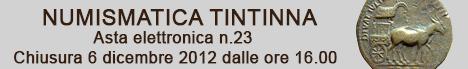 Banner Tintinna - Asta Elettronica 23