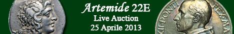 Banner Artemide Aste - Asta  22E