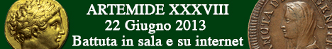 Banner Artemide Aste - Asta XXXVIII