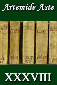 Copertina di: Artemide XXXVIII - Libri