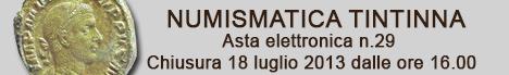 Banner Tintinna - Asta Elettronica 29