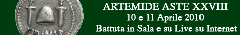 Banner Artemide Aste - Asta XXVIII