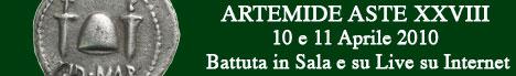 Banner Artemide Aste - Asta XXVIII