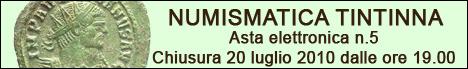Banner Tintinna - Asta Elettronica 5