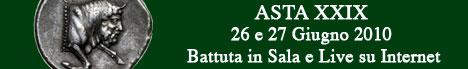 Banner Artemide Aste - Asta XXIX