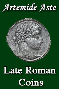 Copertina di: A Collection of Late Roman Coins