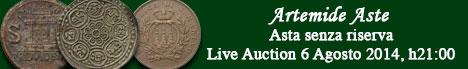 Banner Artemide  - Asta numismatica senza riserva #2