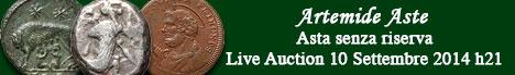 Banner Artemide - Asta numismatica senza riserva #3