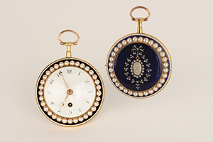 ANONYMOUS, around 1820. Pocket watch,""
