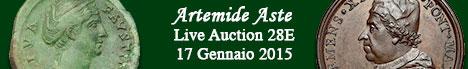 Banner Artemide  - Asta numismatica 28E