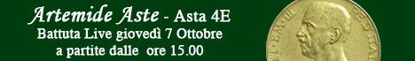Banner Artemide Aste - Asta 4E