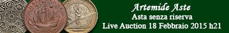 Banner Artemide - Asta numismatica senza riserva #4