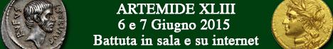 Banner Artemide  - Asta XLIII