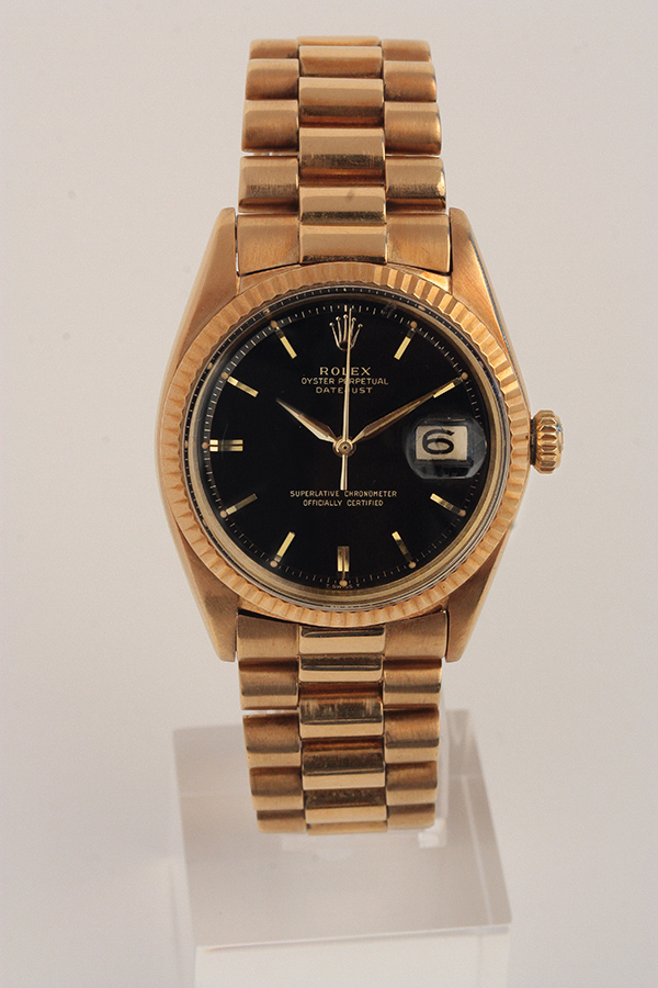 Rolex vintage watch, DATEJUST ref 1601