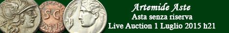 Banner Artemide  - Asta numismatica senza riserva #6