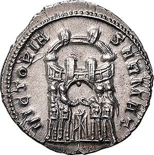 Constantius I Chlorus as Caesar (293-305 AD). AR Argenteus, 294 AD.