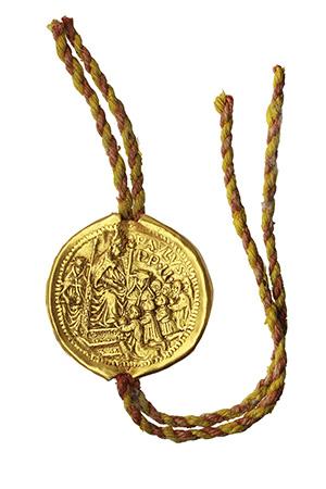 Paolo II (1464-1471), Pietro Barbo. Crisobolla con cordone.