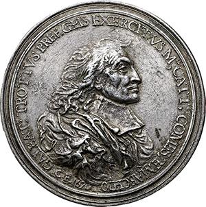 Milano. Gian Galeazzo Trotti (1599 - 1670). Medaglia 1670. Opus: Cesare Fiori