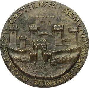 Rimini. Sigismondo Pandolfo Malatesta (1432-1468). Medaglia 1446. Opus: Matteo de' Pasti.
