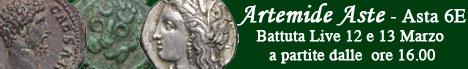 Banner Artemide Aste - Asta 6E