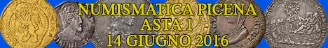 Banner Numismatica Picena - Asta numismatica 1