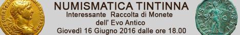 Banner Tintinna - Interessante  Raccolta di Monete dell' Evo Antico