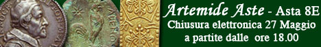 Banner Artemide Aste - Asta 8E