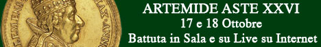 Banner Artemide Aste - Asta XXVI