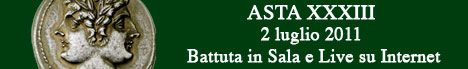 Banner Artemide Aste - Asta XXXIII