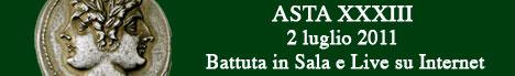 Banner Artemide Aste - Asta XXXIII