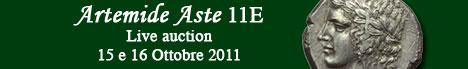 Banner Artemide Aste - Asta 11E