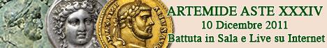 Banner Artemide Aste - Asta  XXXIV