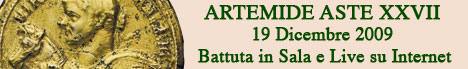 Banner Artemide Aste - Asta XXVII