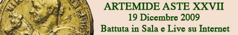 Banner Artemide Aste - Asta XXVII