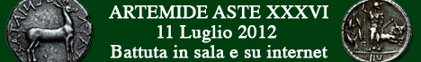 Banner Artemide Aste - Asta  XXXVI
