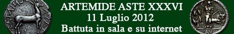 Banner Artemide Aste - Asta  XXXVI