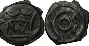 Britain  Cantii Potin 19 mm, circa 100-30 BC. EURO 50