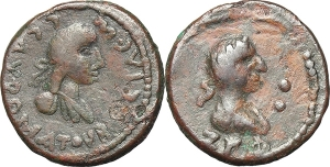 Kings of Bosporos  Sauromates III, with Severus Alexander (229/30-231/2). BI Stater, dated Bosporan EURO 80