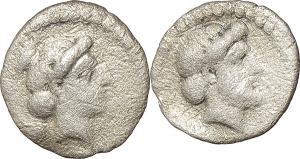 Cilicia, Nagidos   AR Obol, circa 400-380 BC.  EURO 100