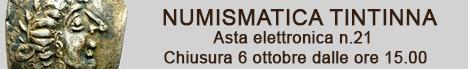 Banner Tintinna - Asta Elettronica 21