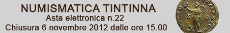 Banner Tintinna - Asta Elettronica 22