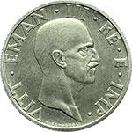 obverse:  Vittorio Emanuele III (1900-1943) 50 centesimi 1936 PROVA.
