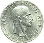 obverse:  Vittorio Emanuele III (1900-1943) 10 lek 1939.
