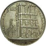 reverse:  Pio VII (1800-1823), Barnaba Chiaramonti Medaglia 1804, per l incoronazione di Napoleone