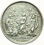reverse:  Pio VII (1800-1823), Barnaba Chiaramonti Medaglia annuale, A. VIII.