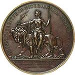reverse:  Pio IX  (1846-1878), Giovanni Mastai Ferretti Medaglia anno I, per l amnistia.